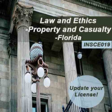 Florida: 5 hr Law & Ethics CE Course - for 2-20 and 20-44 Agents and 4-40 CSRs (INSCE019FL5g)